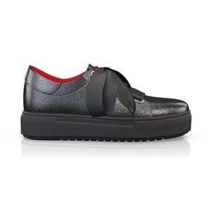 BREN MAROE Designer Women Sport Tec Black Sneaker